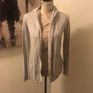 Light weight hooded cardigan size medium